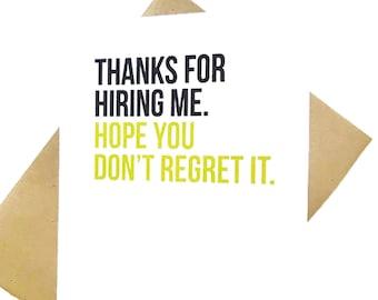Thank you boss etsy boss card supervisor card mentor thank you card funny boss gift m4hsunfo