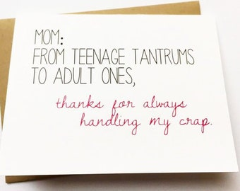 Mother Daughter Card