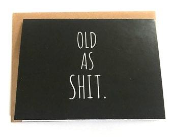 Old Man Card