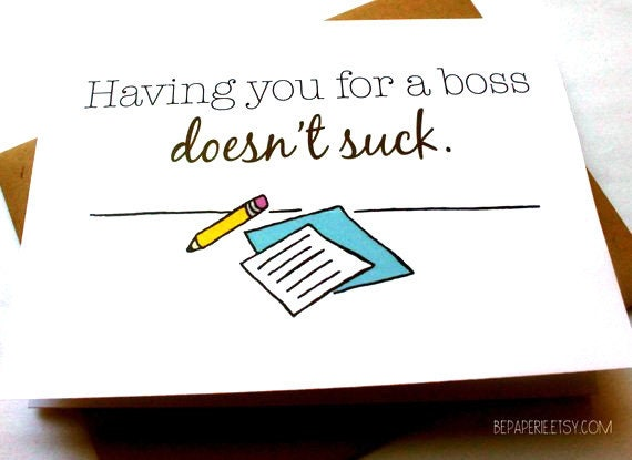 Boss card supervisor thank you card funny appreciation etsy image 0 m4hsunfo