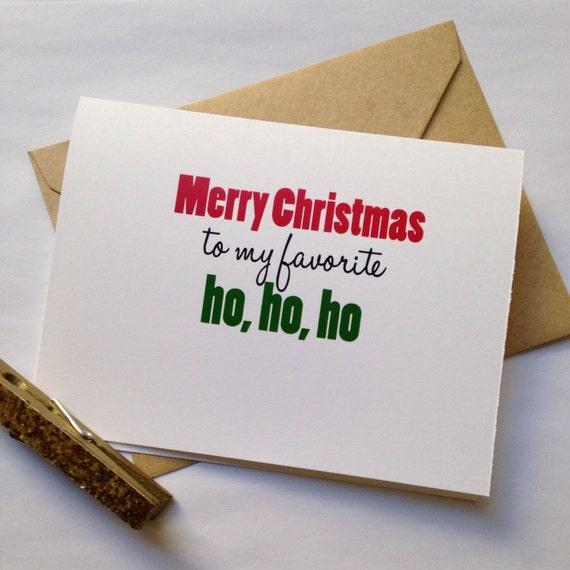 best friend holiday card funny friend card christmas ho ho ho best friend merry christmas card - Merry Christmas To My Best Friend