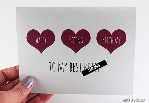 Friend birthday card best friend birthday birthday etsy image 0 m4hsunfo