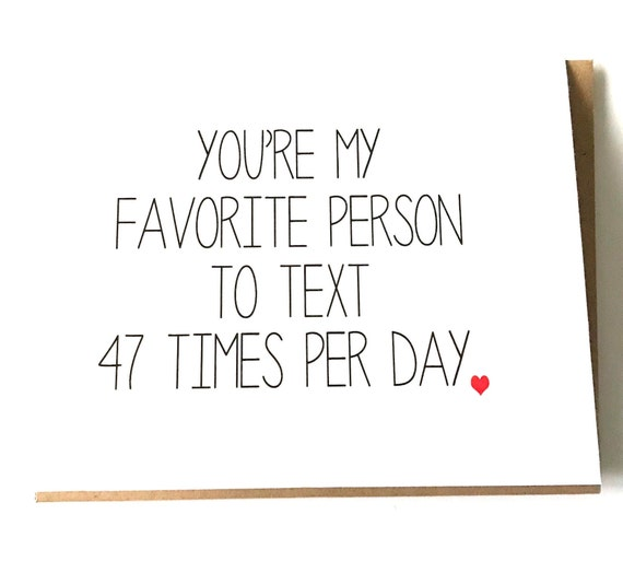 Love card You/'re my favourite