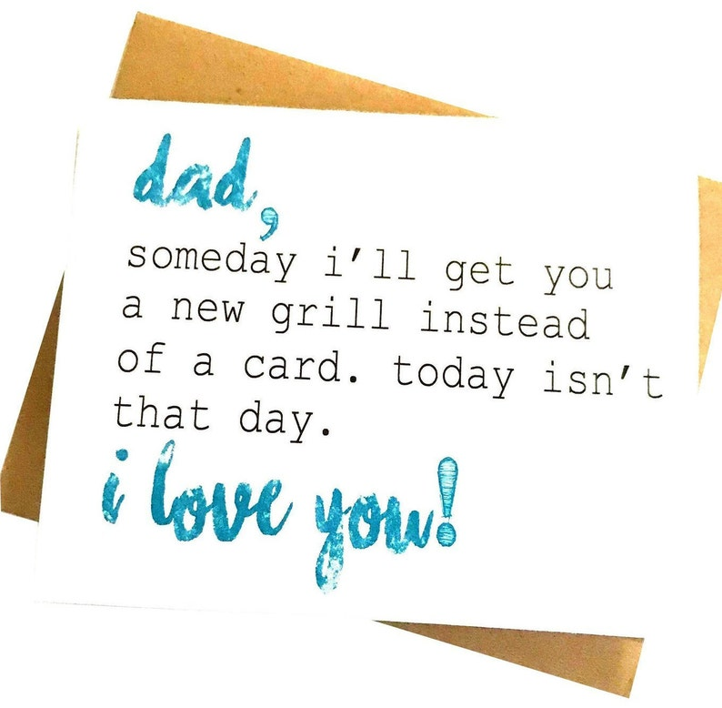 Dad Card Fathers Day Birthday Funny