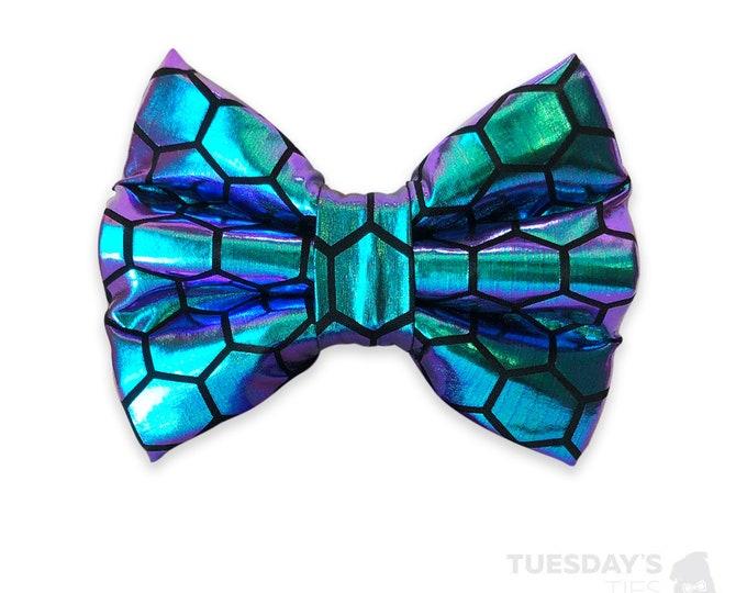Metallic Mermaid Bow Tie