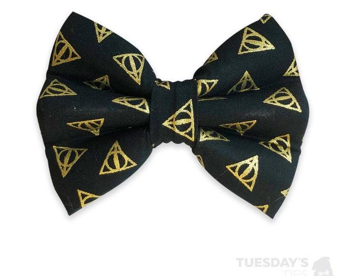 Deathly Hallows Bow Tie