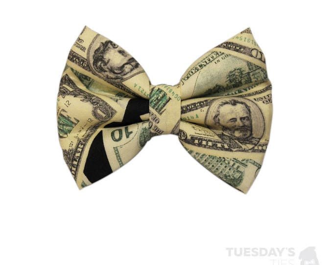 Money Money Money Bow Tie