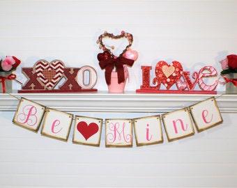 Valentine Day Banner Etsy