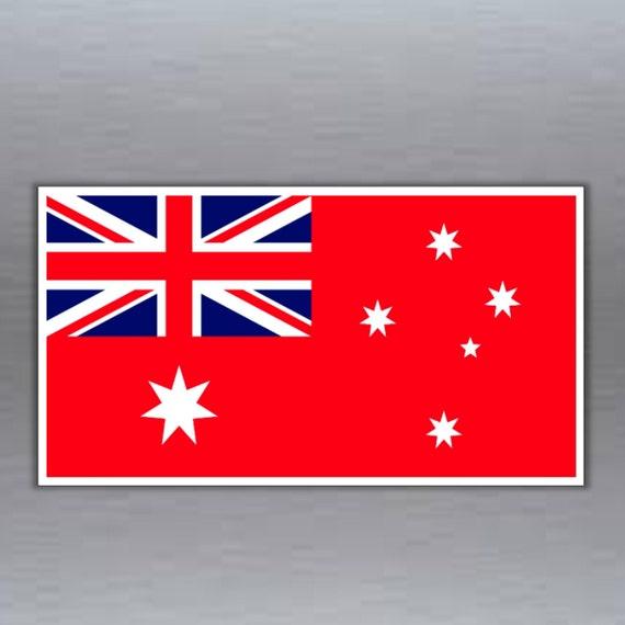 """5,1/"""" AUSTRALIA Australian Flag Aussie 130mm Vinyl Bumper Sticker Decal"""