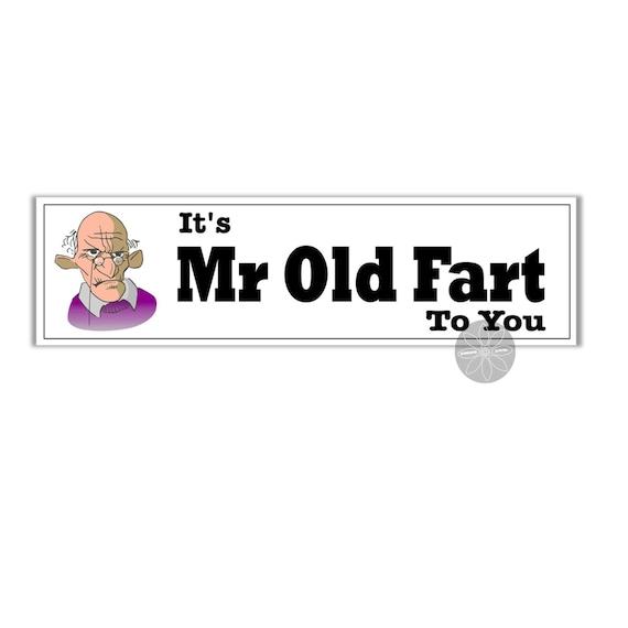 Fart Loading Funny Vinyl Sticker Waterproof Decal