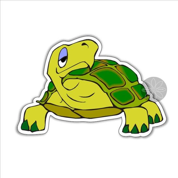 Étoile de Mer Mer Animal Cartoon Autocollant Sticker Fun étiquette en vinyle graphique