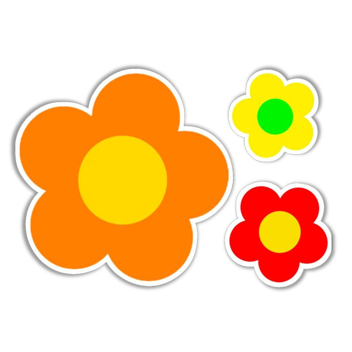 Orange,red,yellow. Fox Vinyl Sticker 3 1//2 in by 2 1//2 in
