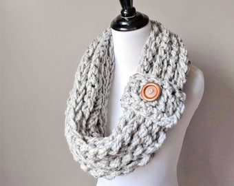READY TO SHIP, Women's Scarf, Infinity Scarf, Gifts for Her, Gifts for Women, Outlander Scarf, Woman Fashion Scarf,  Chunky Scarf