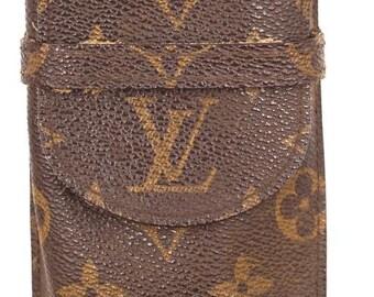 12c56e25c0f Louis Vuitton Monogram Sunglasses Eye Glasses Reading Pouch Holder Pen  Wallet