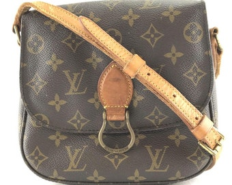 11e518a251ff Louis Vuitton Saint Cloud Messenger Shoulder Monogram Coated Canvas Cross  Body Bag