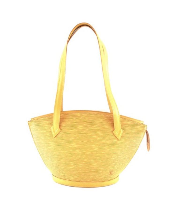 23bbac227521 Louis Vuitton Saint Jacques Pm Short Strap Hand Satchel Epi