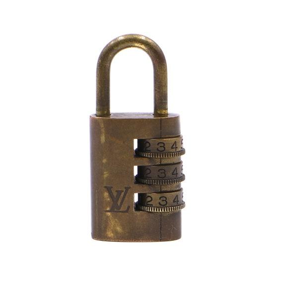 Louis Vuitton Gold Lock Keepall Speedy Alma Rare D