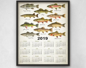 North american fish | Etsy
