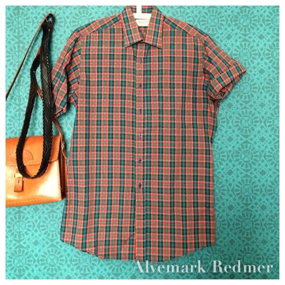 Vintage Tartan shirt S/M