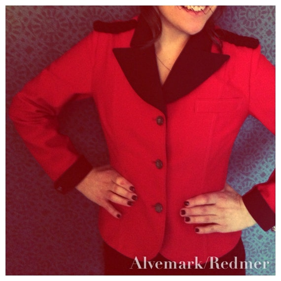 1950's pinup style jacket S