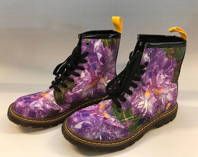 Doc Marten Style boots:  Presby Iris Gardens
