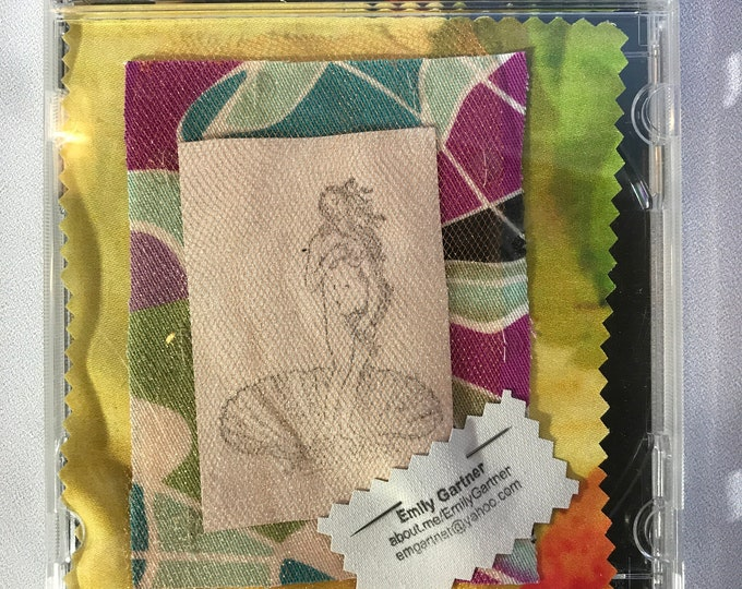DIY Kits: Pop Icon Patches, The Birth of Venus, Goddess of Love
