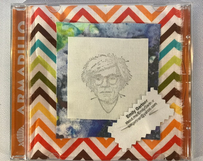 DIY Kits: Pop Icon Patches, Andy Warhol