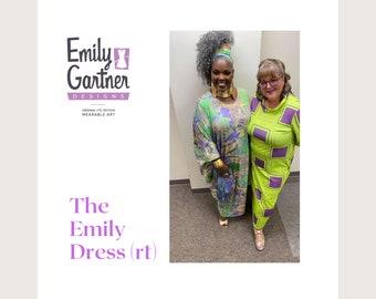 T shirt dress the Emily Dress long tee dress
