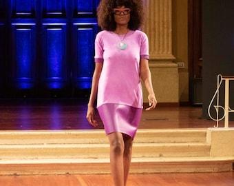 The 'Deborah Dress' flapper dress color block dress