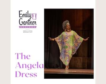 Kaftan the Angela Dress ensemble abstract dress
