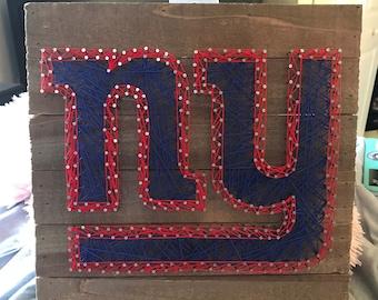New York Giants String Art