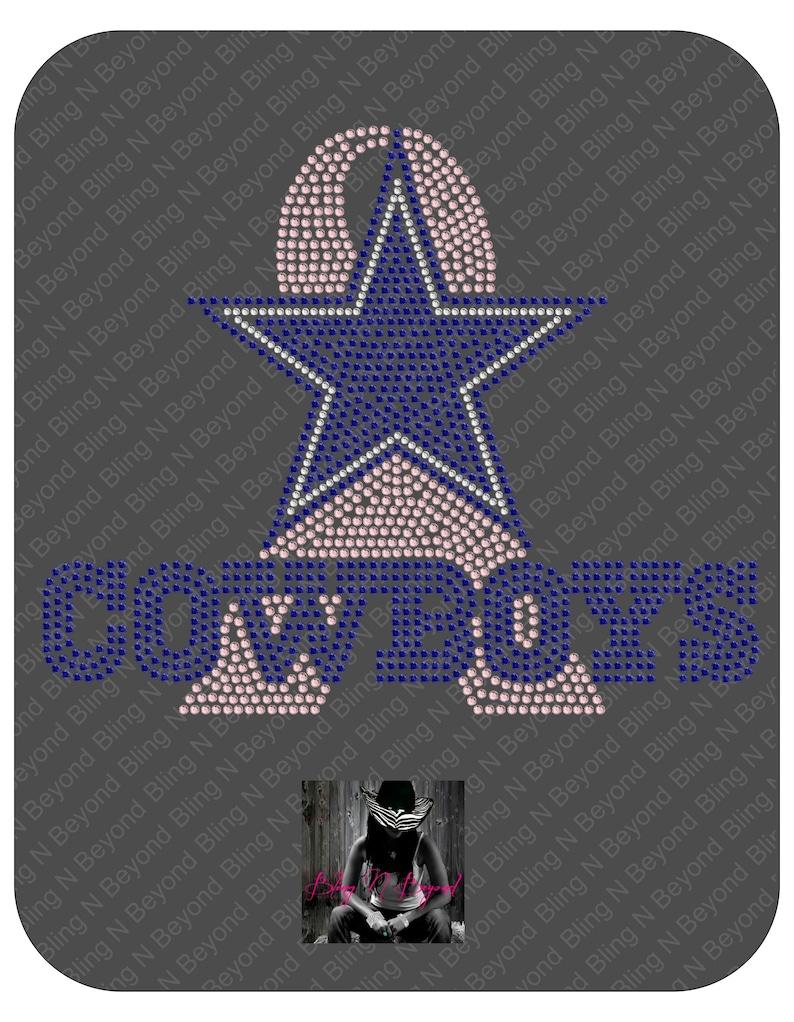 80369cd4b Dallas Cowboys Rhinestone Bling Shirt Breast Cancer