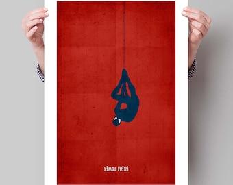"SPIDER-MAN Inspired Minimalist Poster Print - 13""x19"" (33x48 cm)"