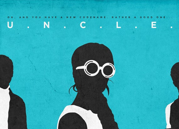 """Man From Uncle Movie Poster Mini 11/""""X17/"""""""