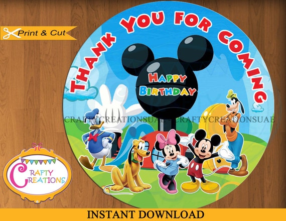 Mickey mouse clubhouse birthday giveaways