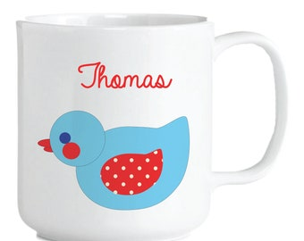 Blue Duck Mug