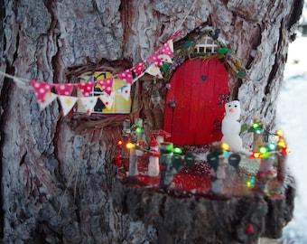 miniature multi color christmas lights 36 ct fairy house dollhouse miniature garden holiday decor miniature lights - Dollhouse Christmas Lights