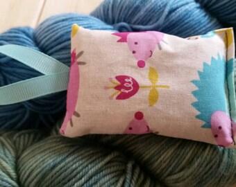 Hedgehogs Lavender Sachet Bug Repellent Yarn Handmade