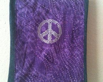 Purple Haze Denim Purse/Cross Body/Hippy/Festival Bag