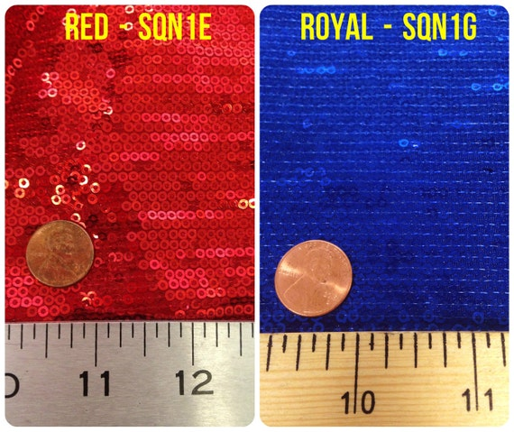 3mm Micro Mini Matte Sequins on Stretch Polyester Spandex Knit Jersey Fabric