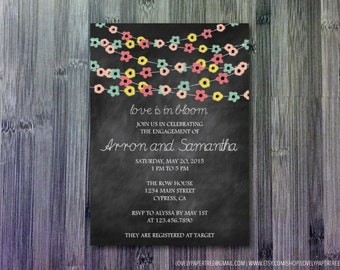 Love is in Bloom Engagement Party Invitation (EP2)