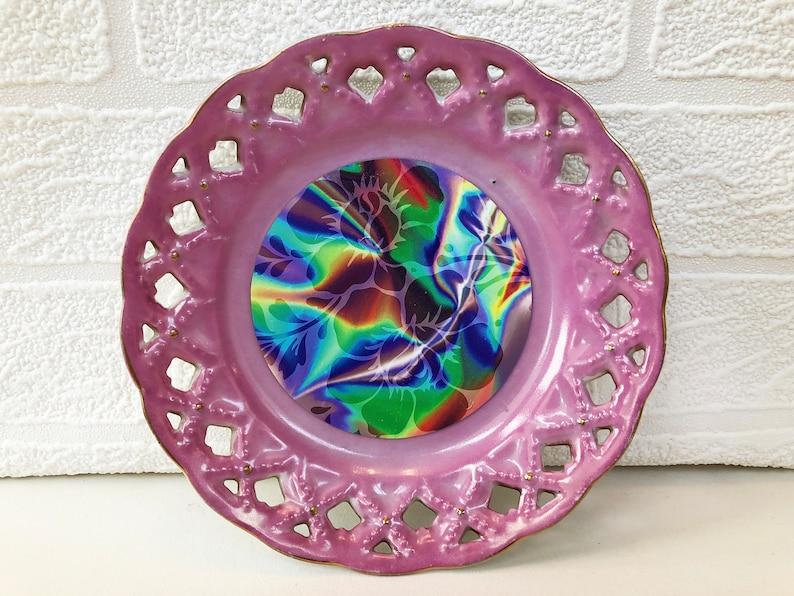 Cosmic Pink Trinket Plate