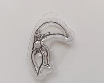IHNew for Rubber Stamping & Handmade Cards 1 Clear Acrylic  Stamp Hat #8