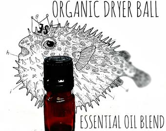 Natural Wool Dryer Ball Scents | Laundry Scent | Laundry Essential Oil | Dryer Ball Fragrance