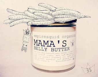 Organic Belly Butter | Belly Balm | Pregnancy Gift | Pregnant Gift | Organic Stretch Mark Cream |  Baby Reveal Gift | New Mother Gift