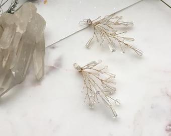 Aurora Glass Bead Wedding Hair Spray
