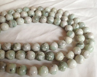 Peace Jade Beads - 4mm