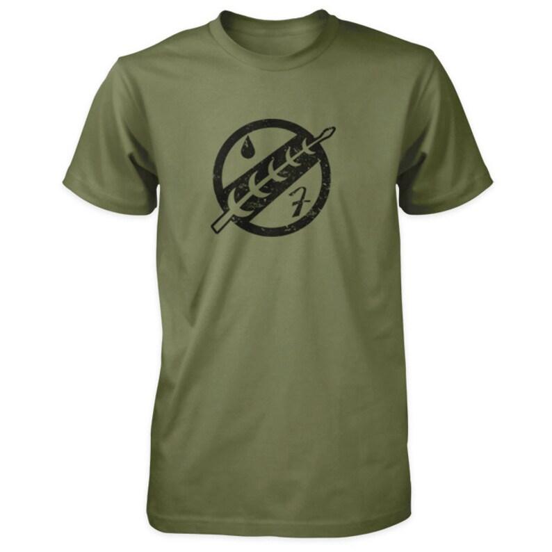 Jaster's Feather T-Shirt  Boba Fett Mandalorian Bounty image 0