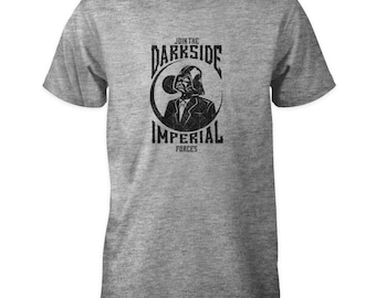 Star Wars T-Shirt - Join The Darkside - Darth Vader Imperial Forces Death Star