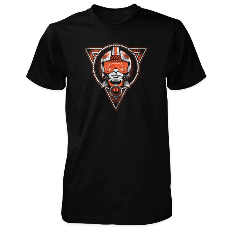 Rogue Leader X-Wing Fighter Pilot Shirt inspired by Star Wars image 0
